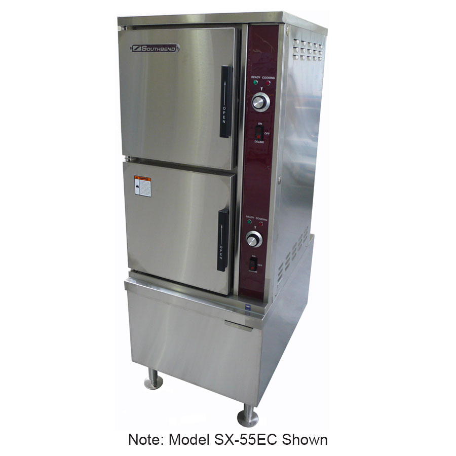 Southbend SX-34EC Electric Floor Model Steamer w/ (7) Full Size Pan Capacity, 240v/3ph