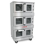 Southbend TVGS/32SC Triple Full Size Gas Convection Oven - NG