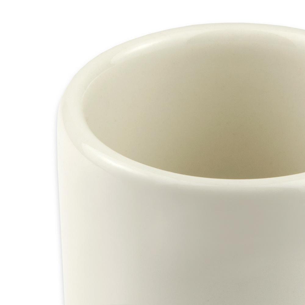 Hall China 13180AWHA 10-oz Mug, White