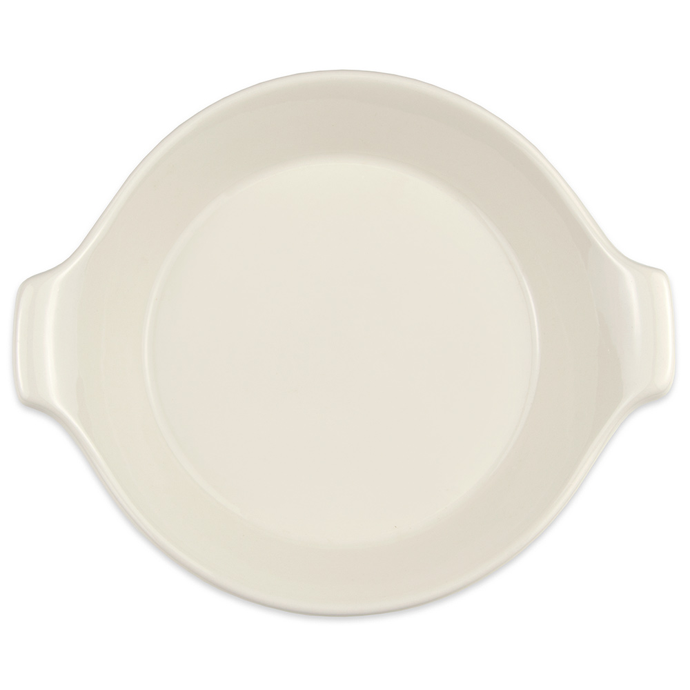 """Hall China 16770ABWA 7.5"""" Round Au Gratin Dish w/ 16-oz Capacity, White"""