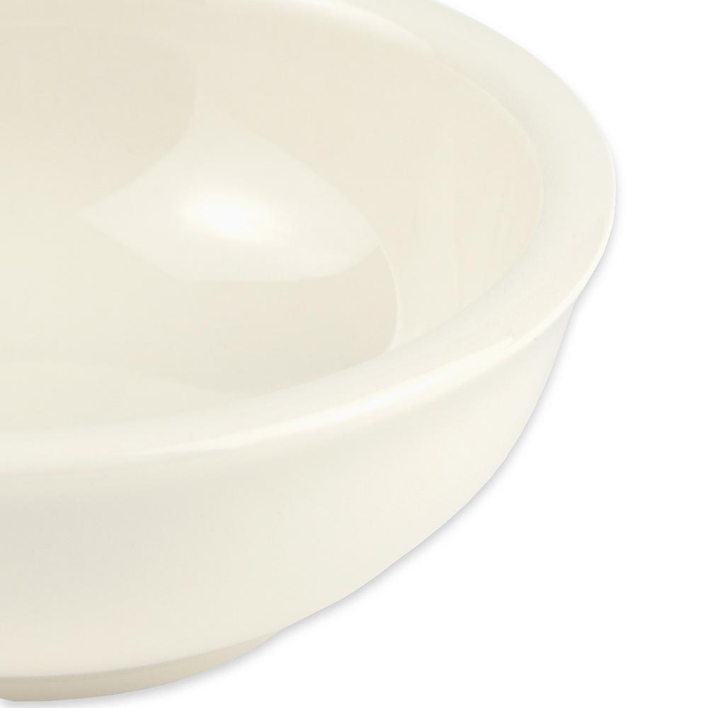 "Hall China 1780AWHA 3.875"" Round Salsa Bowl w/ 5-oz Capacity, White"