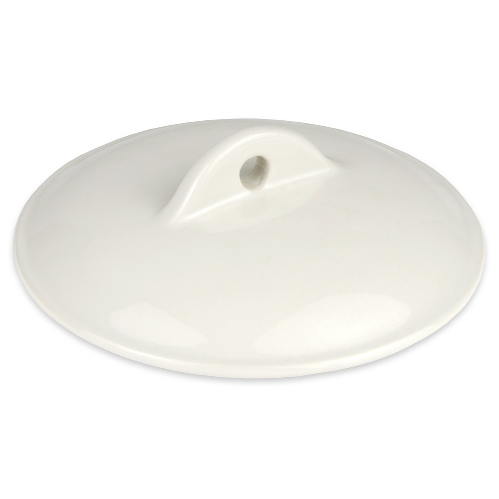 Hall China 21560CWHA Casserole Dish Cover for 32-oz Dish, White