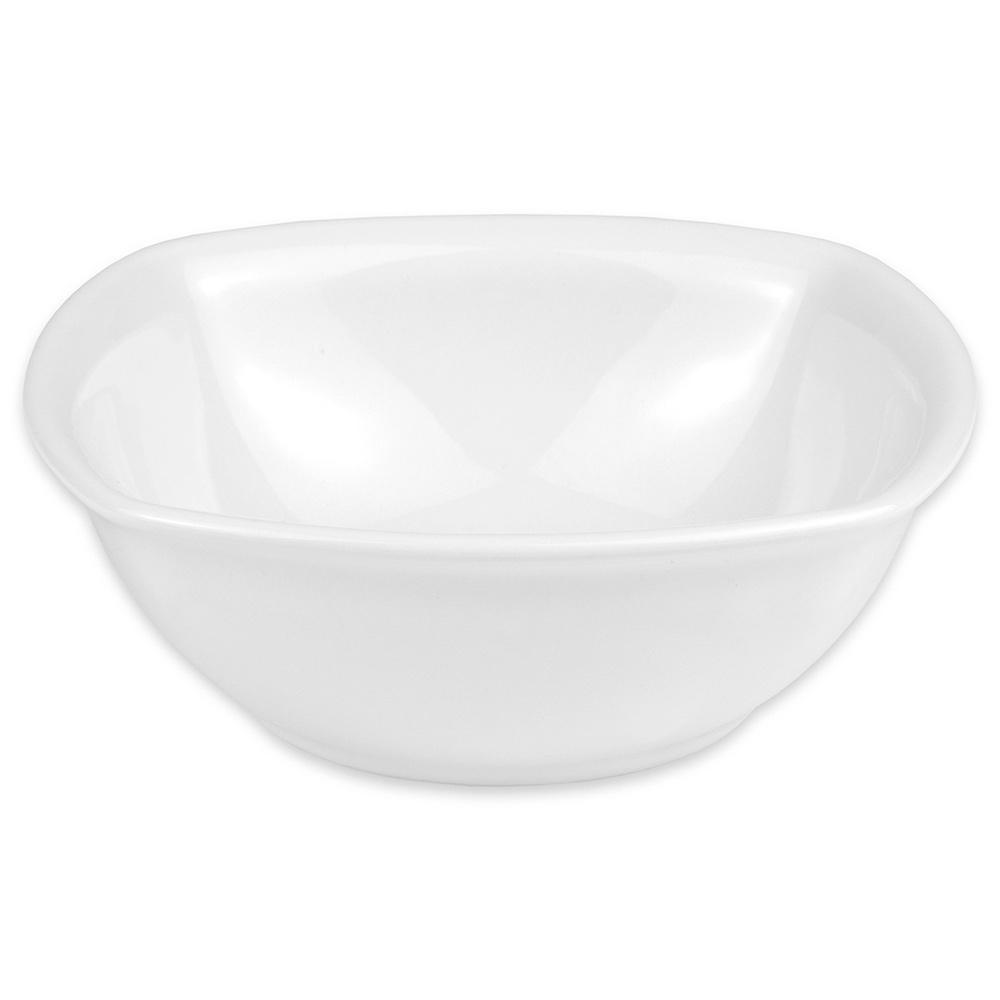 "Hall China 44640ABWA 5.5"" Square Bowl w/ 13-oz Capacity, White"