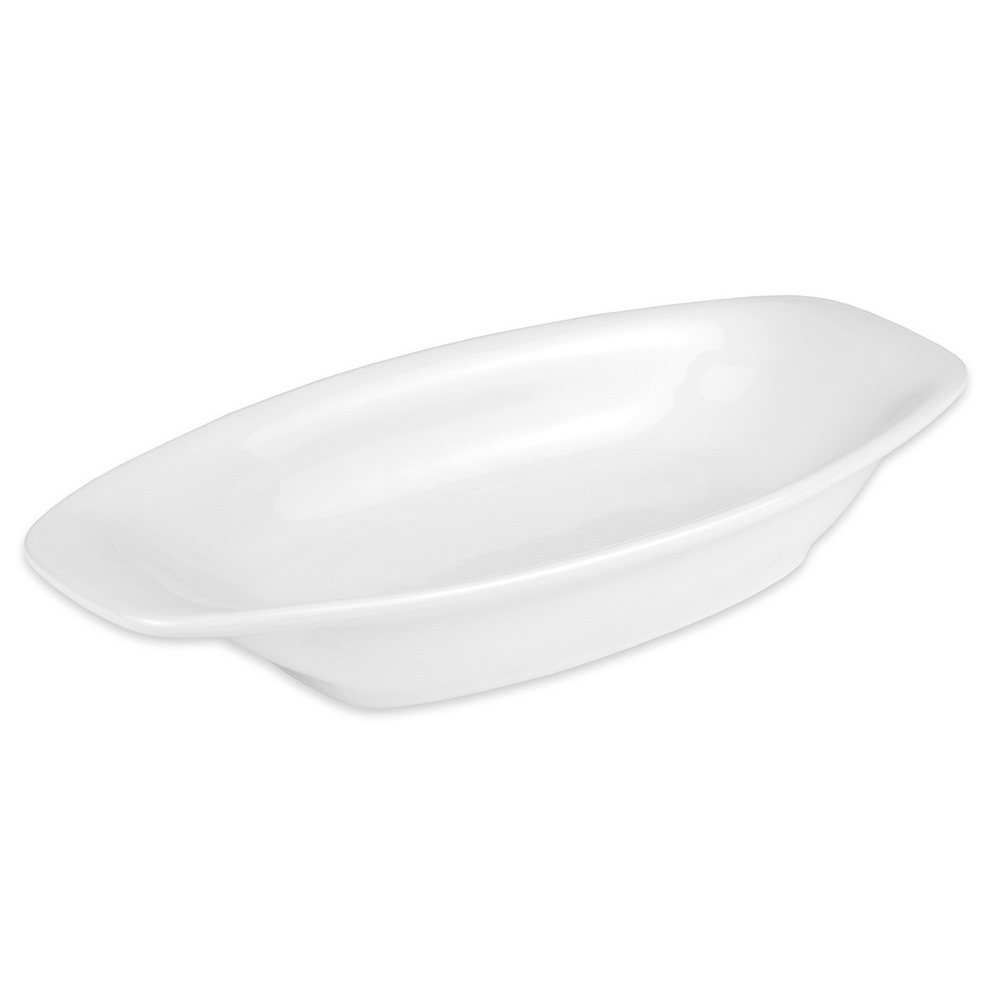 "Hall China 44700ABWA Oval Baking Dish w/ 15-oz Capacity, 10.125"" x 1.625"", White"