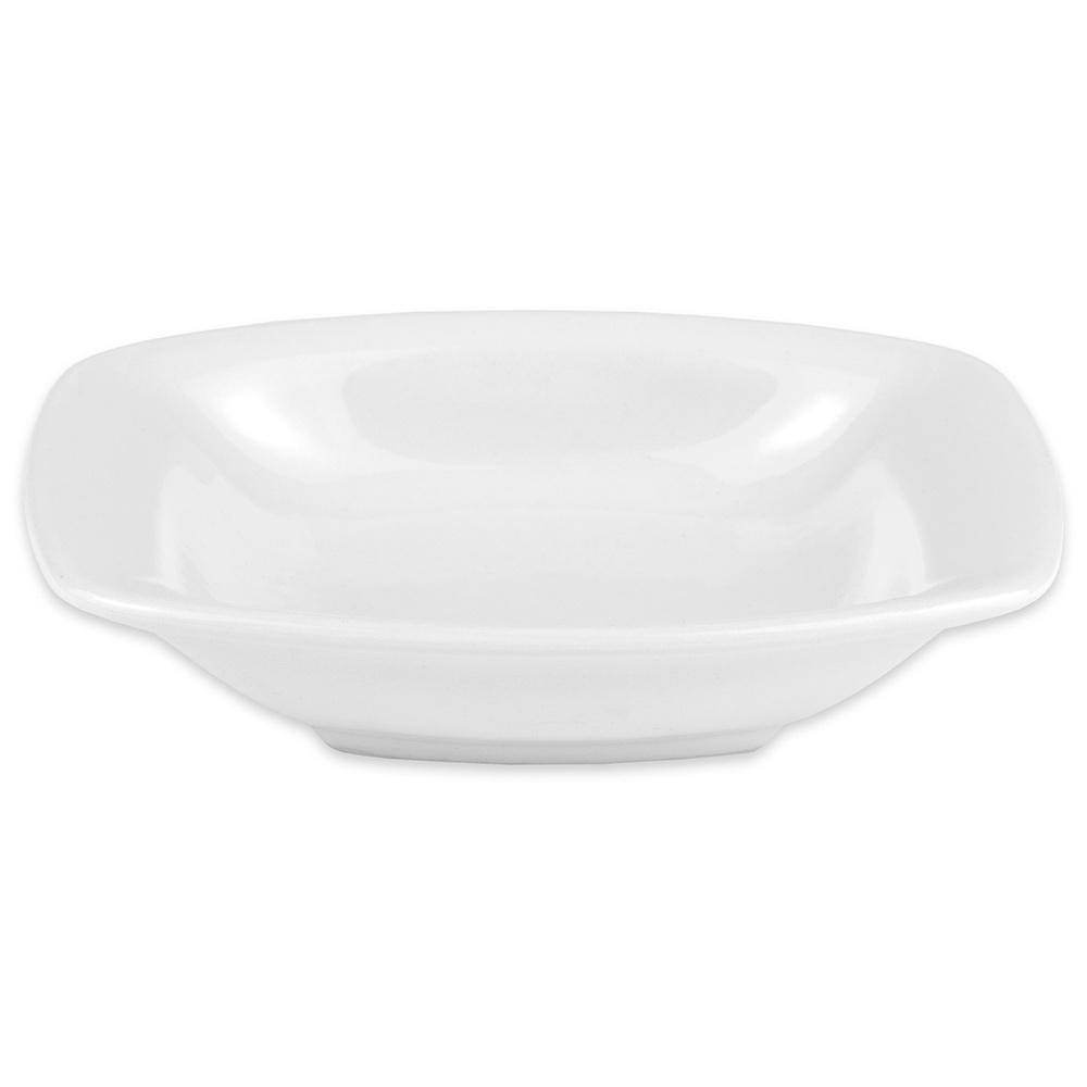"Hall China 44710ABWA Oval Au Gratin Dish w/ 3.5-oz Capacity, 4.75"" x 1"", White"