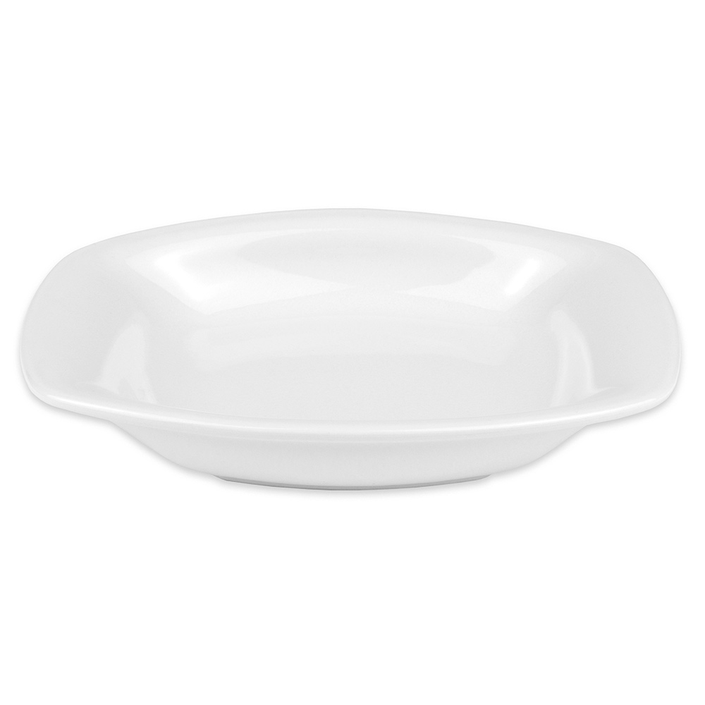 "Hall China 44730ABWA Oval Au Gratin Dish w/ 14-oz Capacity, 8.125"" x 6.5"", White"