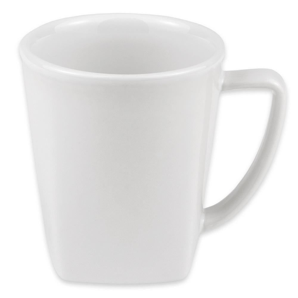 """Hall China 44780ABWA 3.5625"""" Round Mug w/ 12-oz Capacity, White"""
