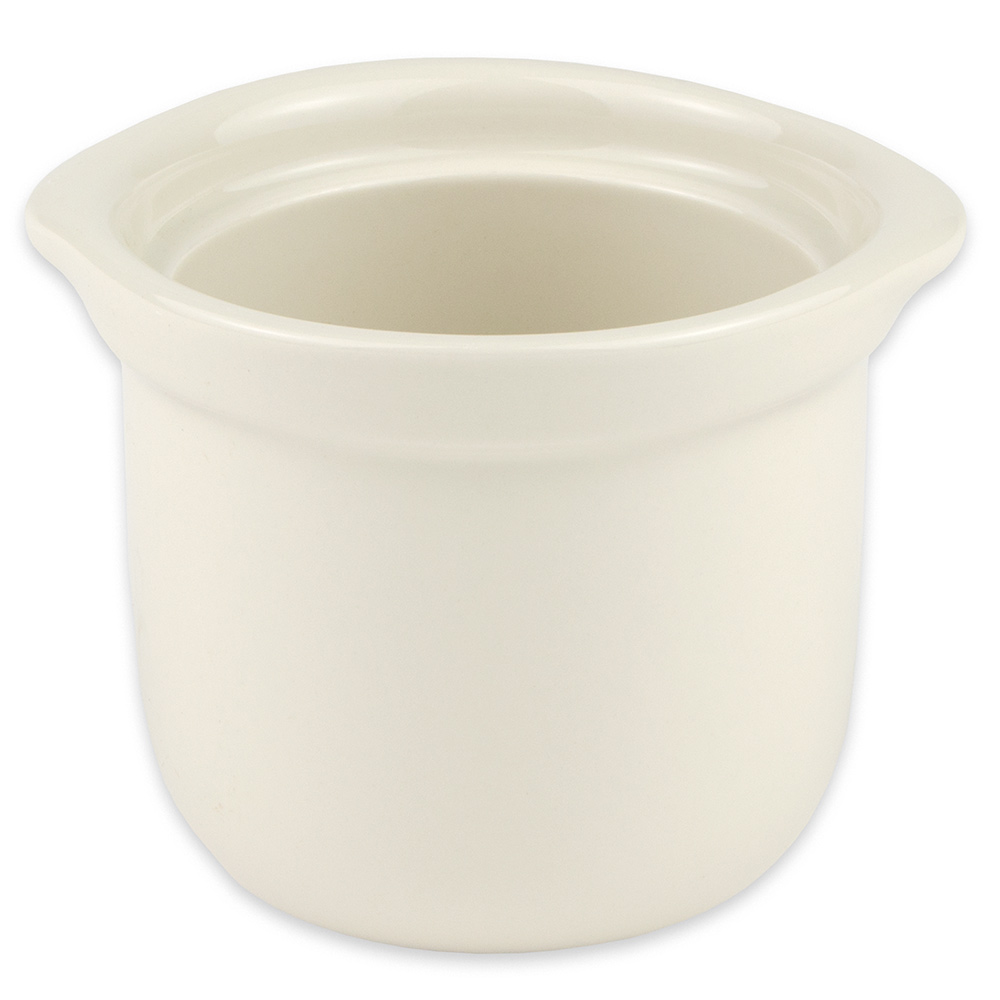 "Hall China 4710BWHA 4.125"" Round Soup Bowl w/ 12-oz Capacity, White"