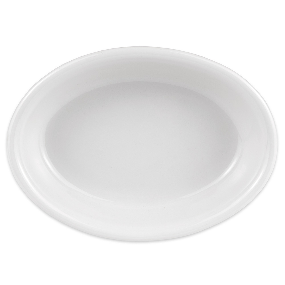 Hall China 5700ABWA Oval Baking Dish w/ 6-oz Capacity, White