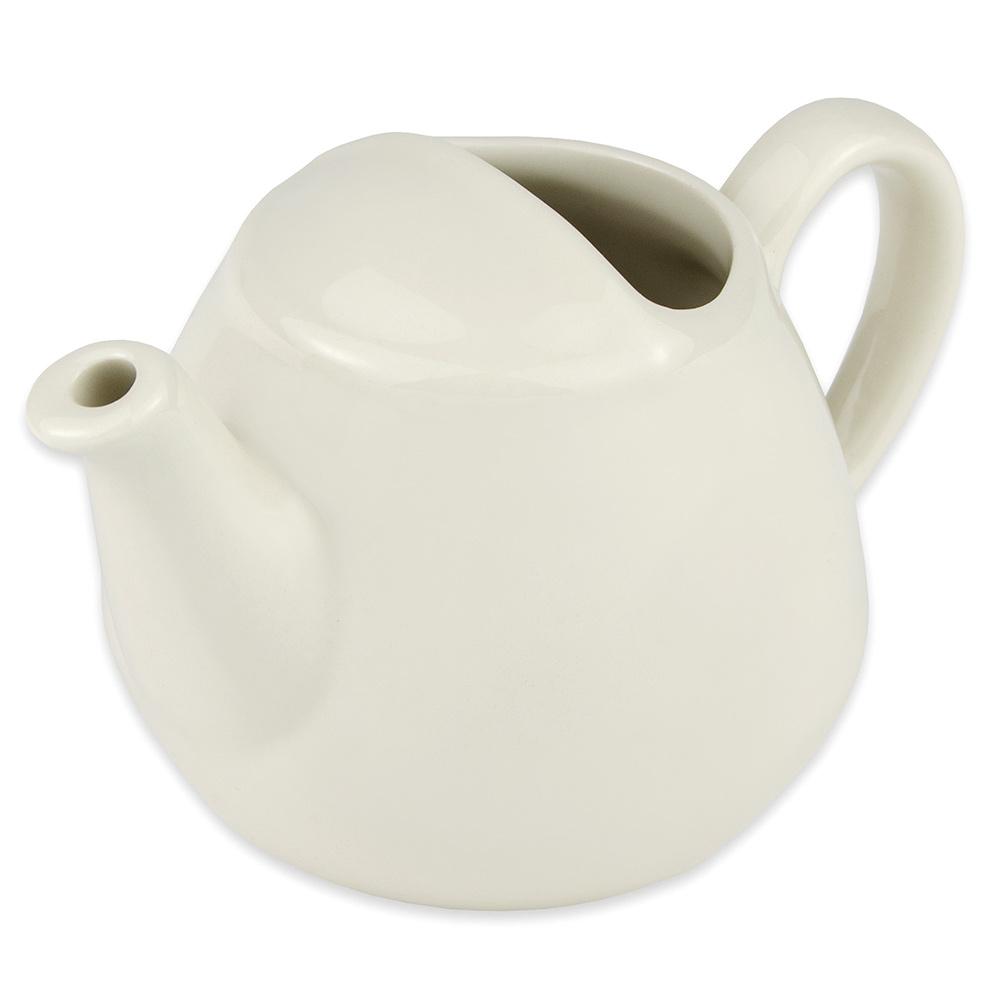 Hall China 820AWHA 16-oz Teapot, White