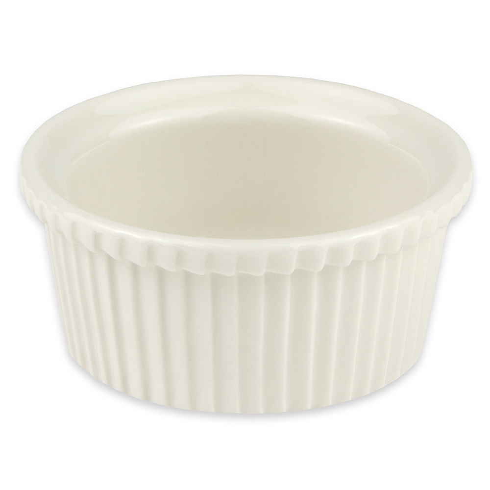 "Hall China 8430ABWA 3.75"" Round Ramekin w/ 5-oz Capacity, White"