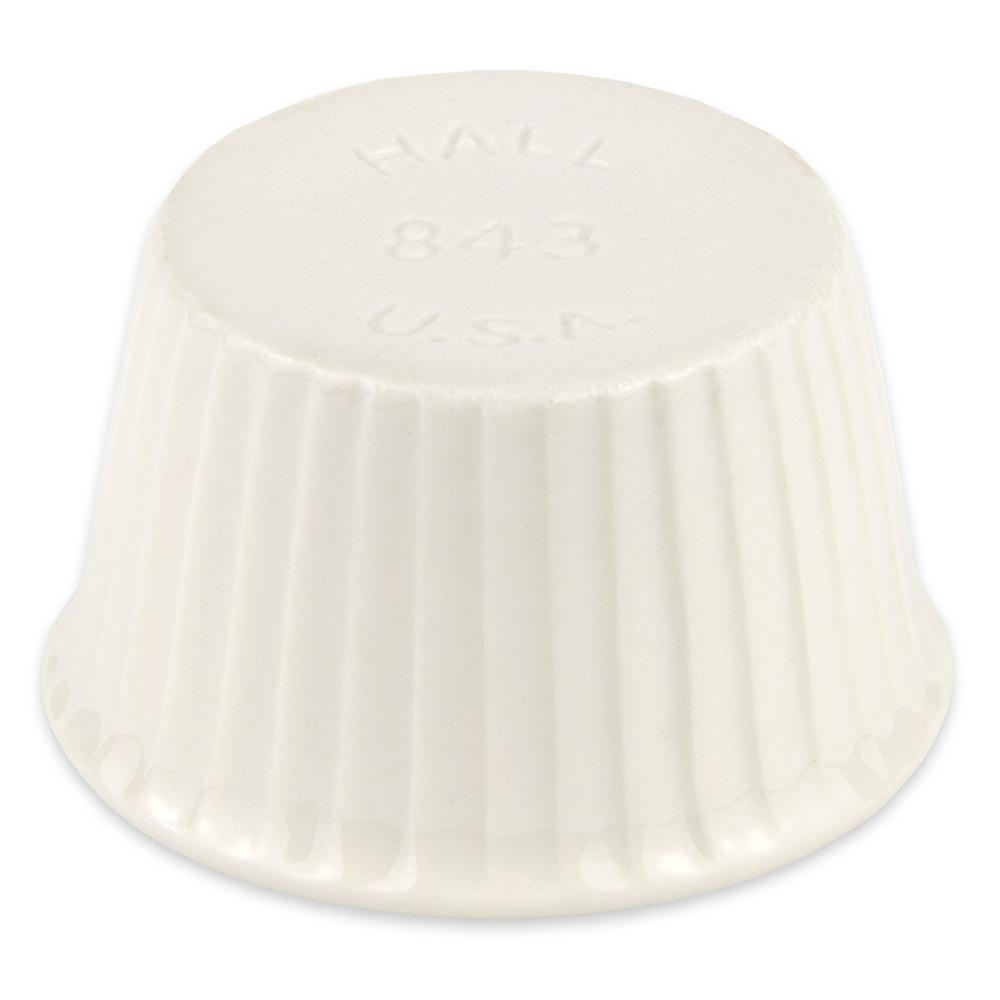 "Hall China 8430AWHA 2.25"" Round Ramekin w/ 1-oz Capacity, White"