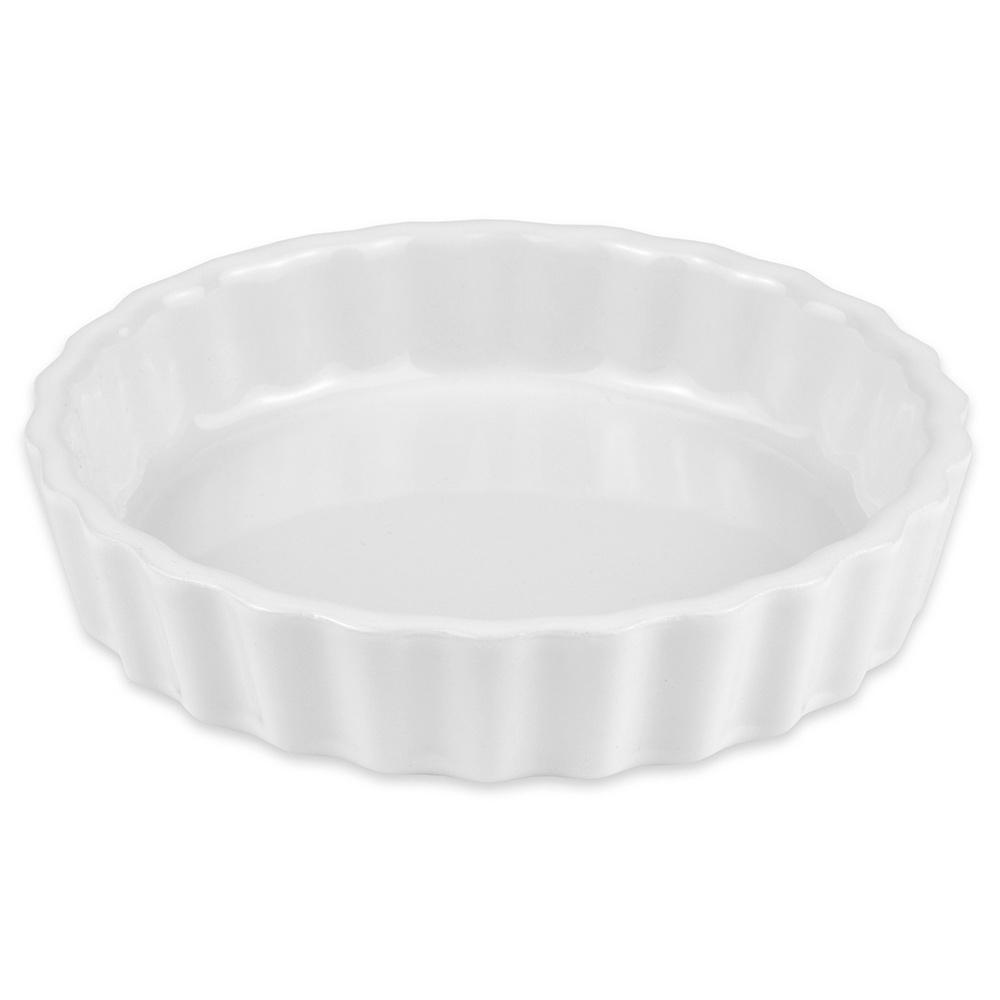 "Hall China 8630ABWA 4.5625"" Round Souffle Dish w/ 5-oz Capacity, White"