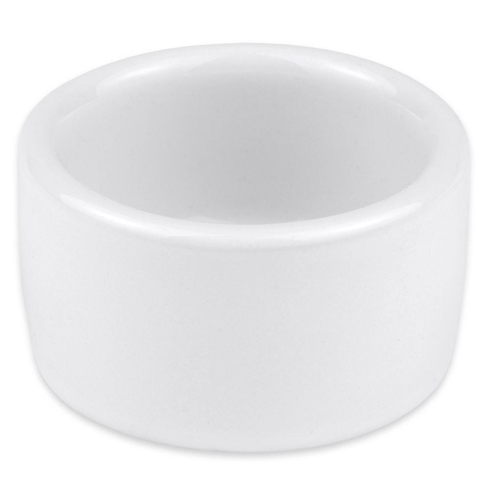 """Hall China 9150ABWA 2.375"""" Round Ramekin w/ 2-oz Capacity, White"""