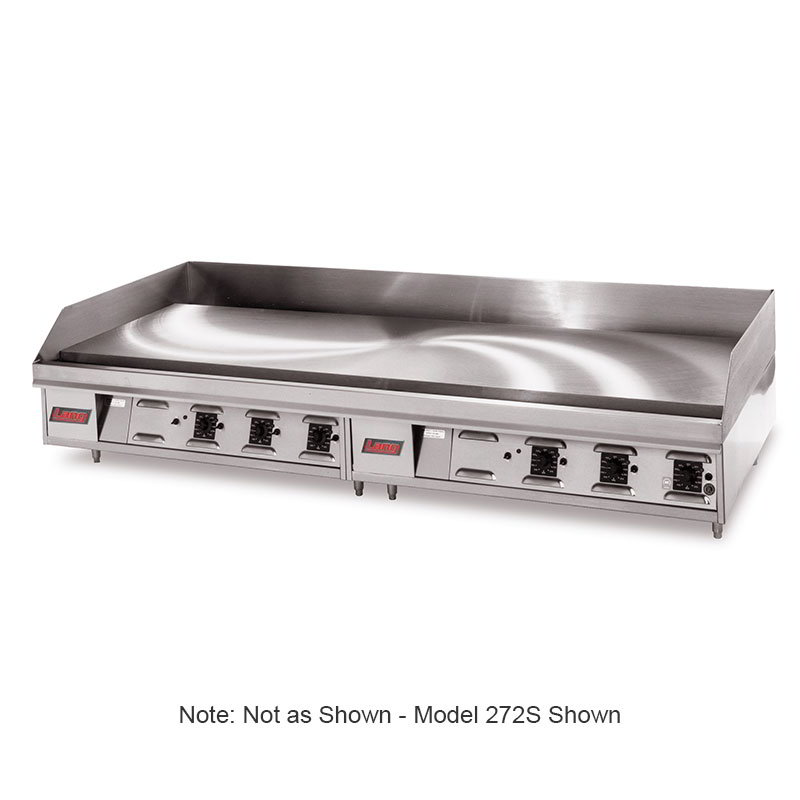 "Lang 124SC 24"" Electric Griddle - Thermostatic, 1"" Chrome Plate, 208v/3ph"