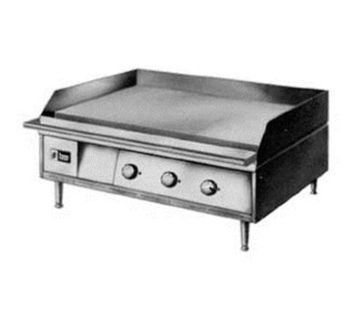"Lang 136TC 208/3 36-in Griddle - 1"" Steel Cooking Surface, 208v/3"
