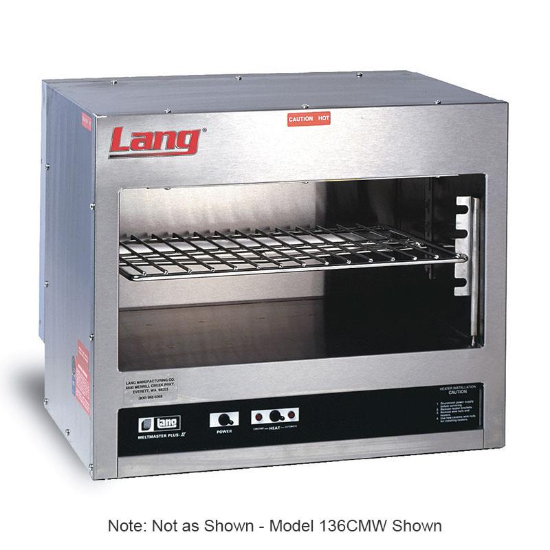 "Lang 148CM 48"" Quartz Element Electric Cheese Melter, 208/1v"