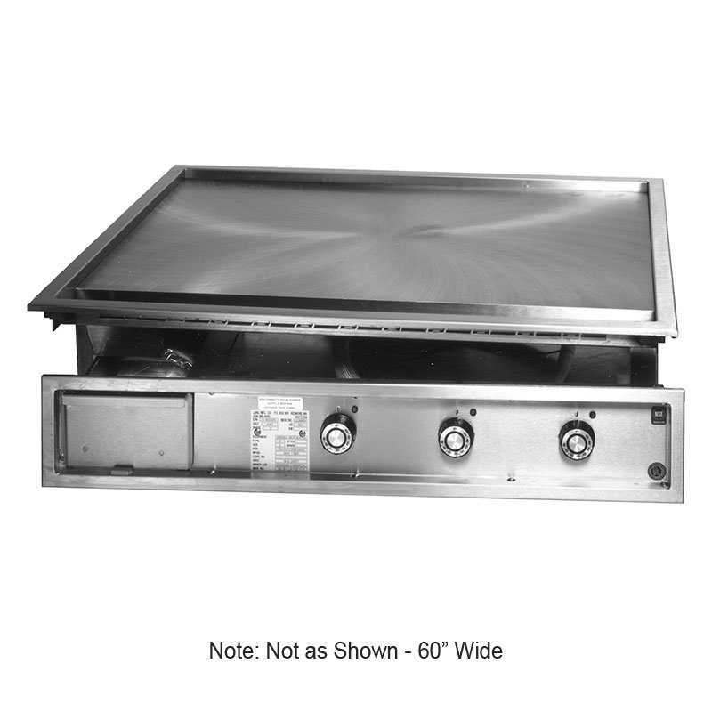 Lang 160TDI2083 60-in Drop In Griddle w/ 1-in Steel Plate, Solid State, 208/3 V