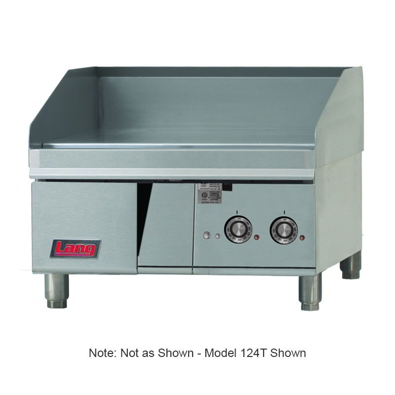 Lang 236TNG 36-in Griddle w/ 1-in Steel Plate & Mechanical Thermostat, NG