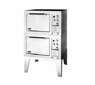 Lang DO362083 Oven Double Deck Type S/S 16 in Legs 208V/3ph Restaurant Supply