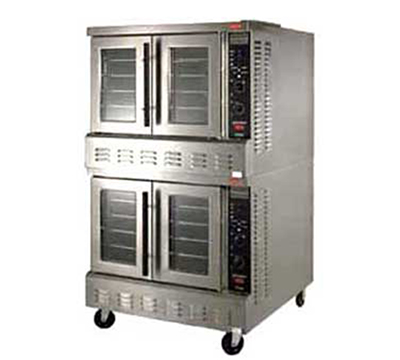 Lang ECOFS22083 G & E Series Conv. Oven, Full-Size, 2 Decks, 10 Racks, Selectronic II, 208/3 V