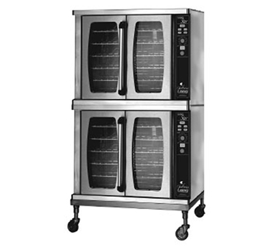 Lang ECSF-ES2 Double Full Size Electric Convection Oven - 208v/3ph