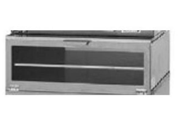 Lang MBSC Micro Bakery Staging Area, Holding Cabinet, (4) Half-Size Pan Capacity, S/S