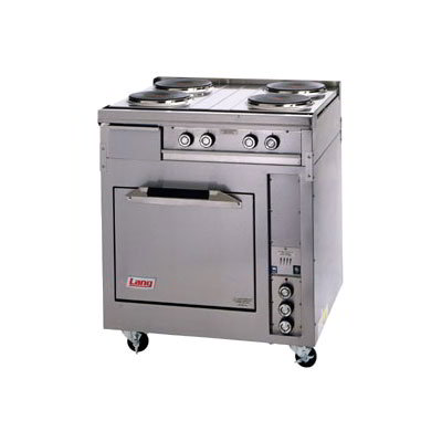 "Lang R30S-ATA 30"" 4-Sealed Element Electric Range, 208v/3ph"