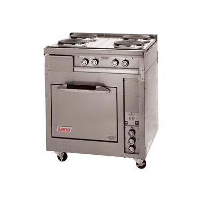 "Lang R30S-ATA 30"" 4-Sealed Element Electric Range, 240v/1ph"