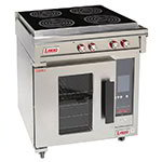 Lang RI30C-APA Floor Model Commercial Induction Range w/ (4) Burners, 208v/1ph