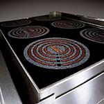 Lang RI30C-APA Floor Model Commercial Induction Range w/ (4) Burners, 208v/1ph