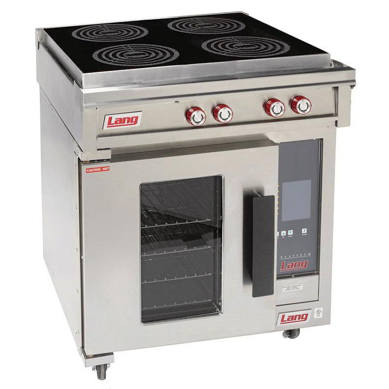 lang ri30capa floor model commercial induction range w 4 burners 208v1ph