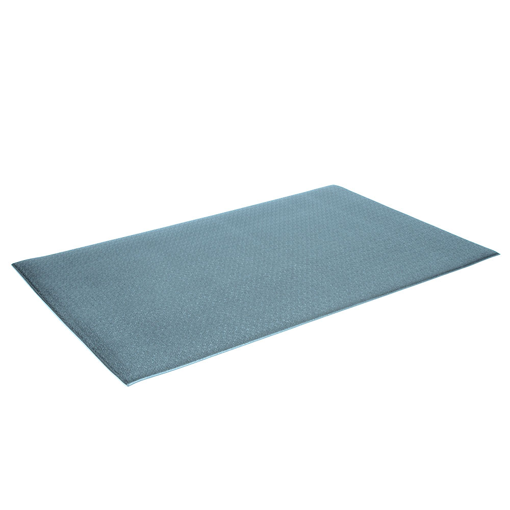 "Crown FP3660GY Tuff-Spun Foot Lover Mat, 36 x 60"", 3/8"" Thick, Gray"