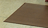 Crown FPS736BR Tuff-Spun Foot Lover Mat, 27 x 36-in, 3/8-in Thick, Brown