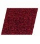 Crown GS0046CR Rely On Olefin Wiper Mat, 4 x 6-ft, 3/8-in Thick, Red