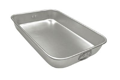 "Update International ABP-1826H Bake Pan - Drop Handles, 18x26x2-1/4"" Aluminum"