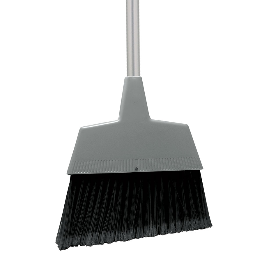 Update International ABRM-60 Angle Broom - Gray/Black