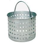 "Update ABSK-100 100-qt Aluminum Steamer Basket, 18.125"" dia., 15.44""H"