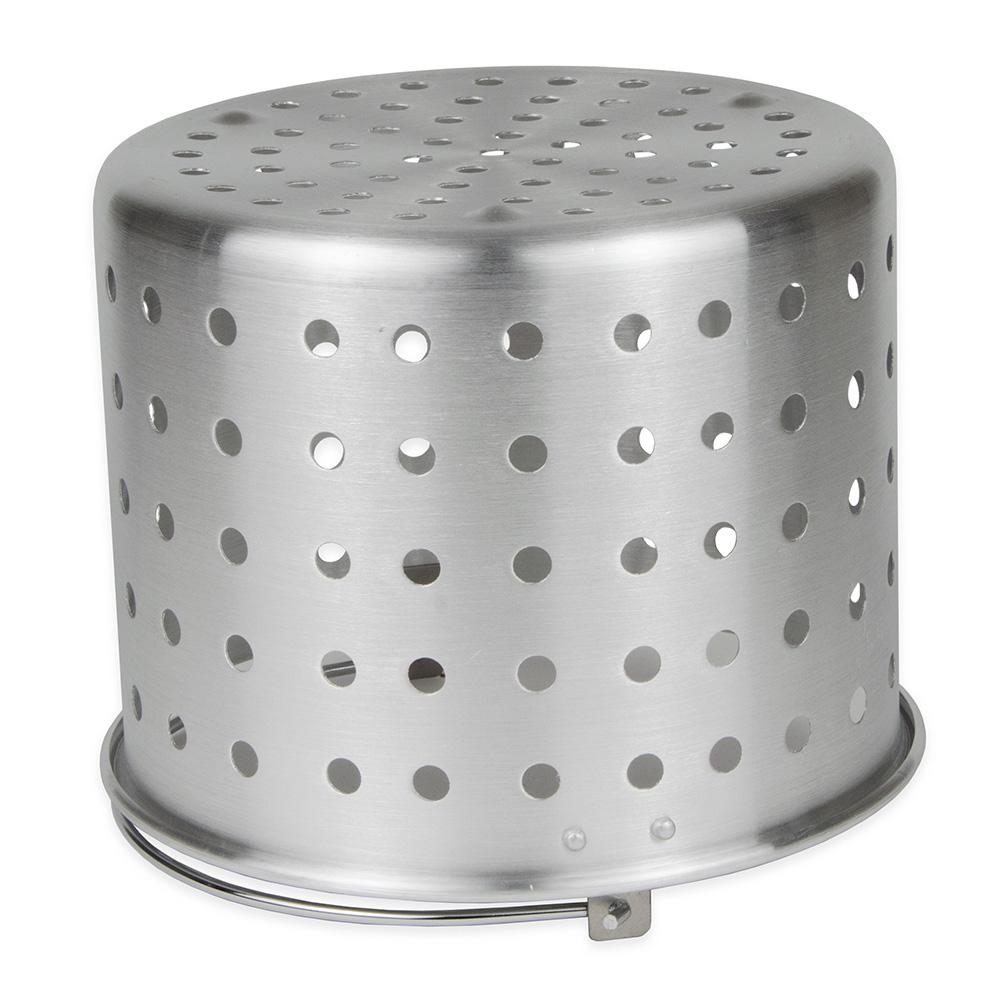 "Update ABSK-20 20-qt Aluminum Steamer Basket, 10.875"" dia., 8.375""H"