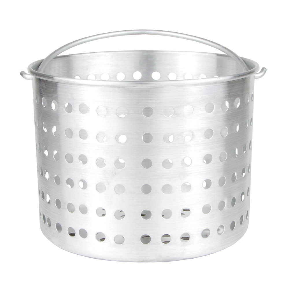 Update International ABSK-32 32-qt Steamer Basket - (APT-32) Aluminum