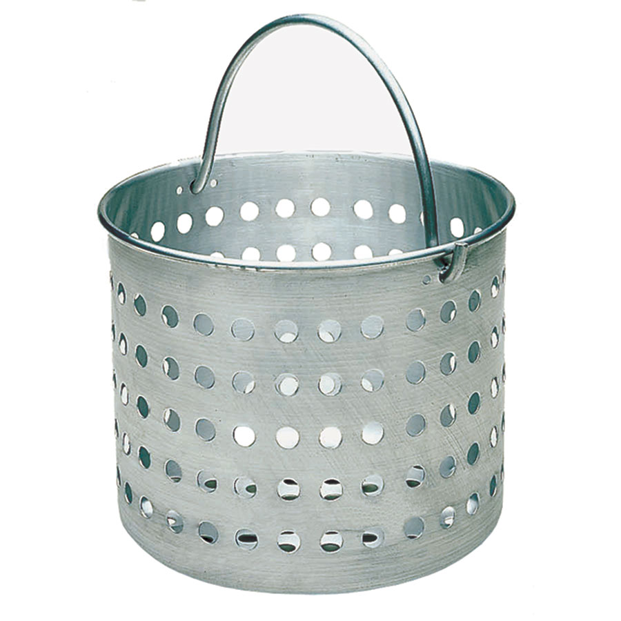 "Update ABSK-60 60-qt Aluminum Steamer Basket, 14.5"" dia., 15""H"
