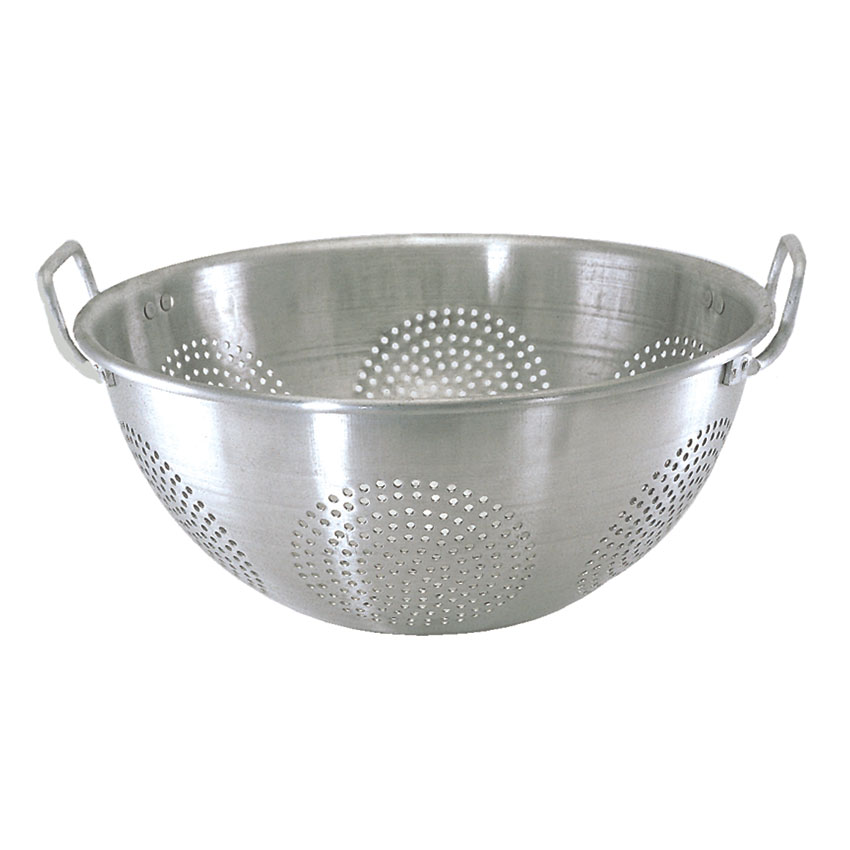 Update ACO-16CH 16-qt Chinese Colander with Handles - Aluminum