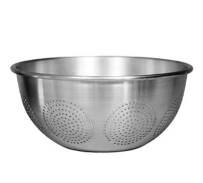 Update International ACO-16 16-qt Colander with Handles and Base - Aluminum