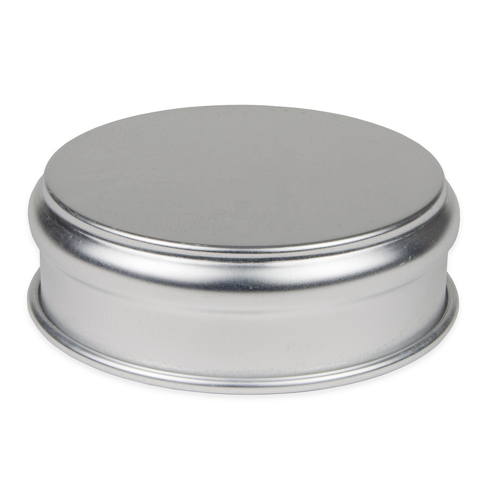 "Update ADP-48 7-1/4"" Round Pizza Dough Pan - 48-oz Capacity, Aluminum"
