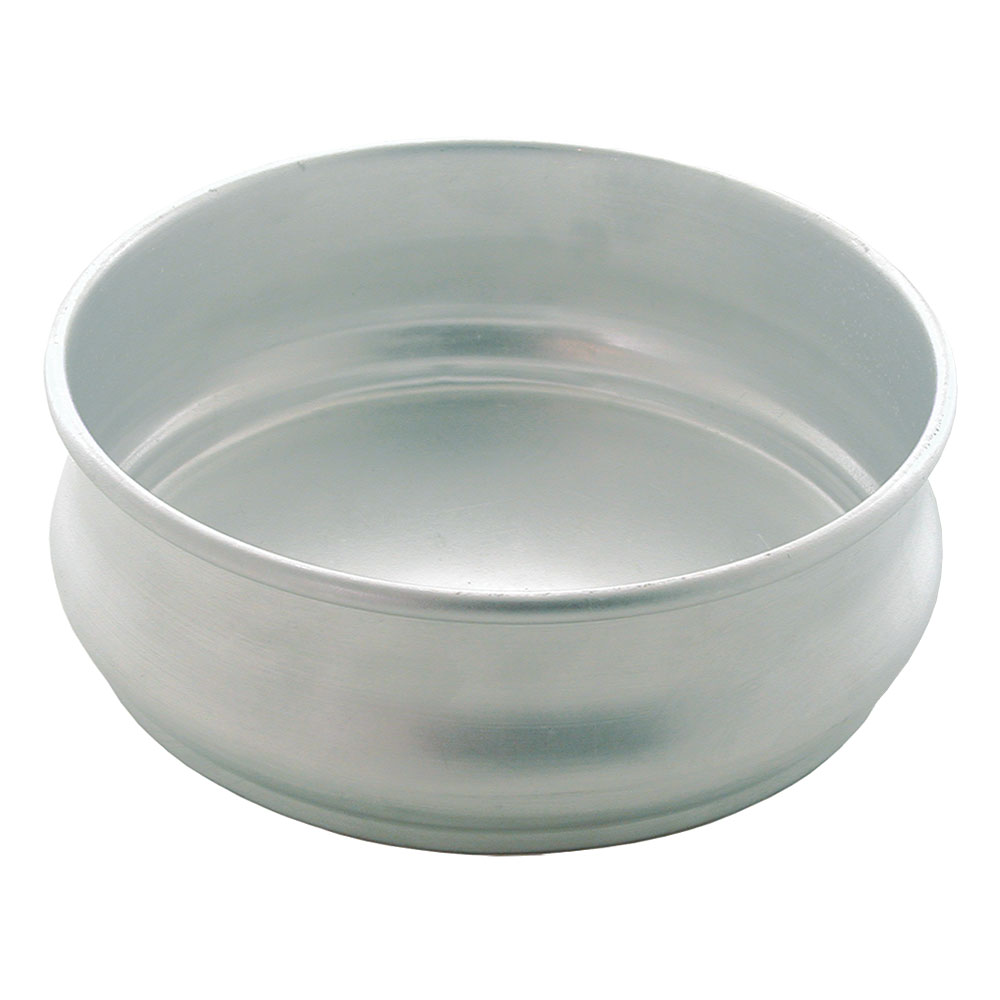 "Update ADP-96 8"" Round Pizza Dough Pan - 96-oz Capacity, Aluminum"