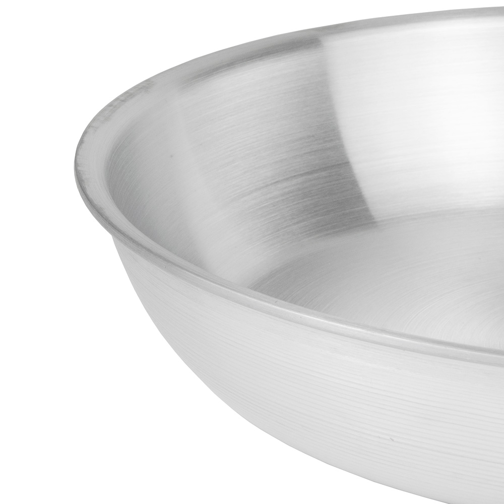 """Update AFP14H 14"""" Aluminum Frying Pan w/ Solid Silicone Handle"""