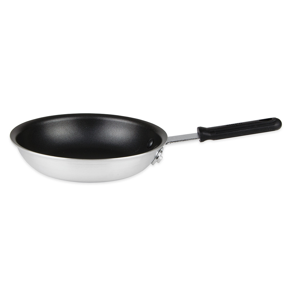 """Update AFQ08H 8"""" Aluminum Frying Pan w/ Solid Silicone Handle"""