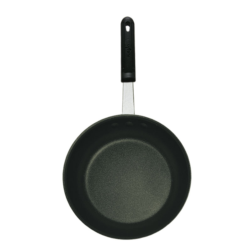 """Update AFQ14H 14"""" Aluminum Frying Pan w/ Solid Silicone Handle"""