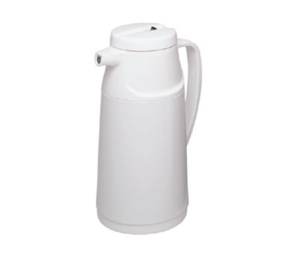 Update International AI-100/W 1.0 Liter Click Pour Top Vacuum Server, White