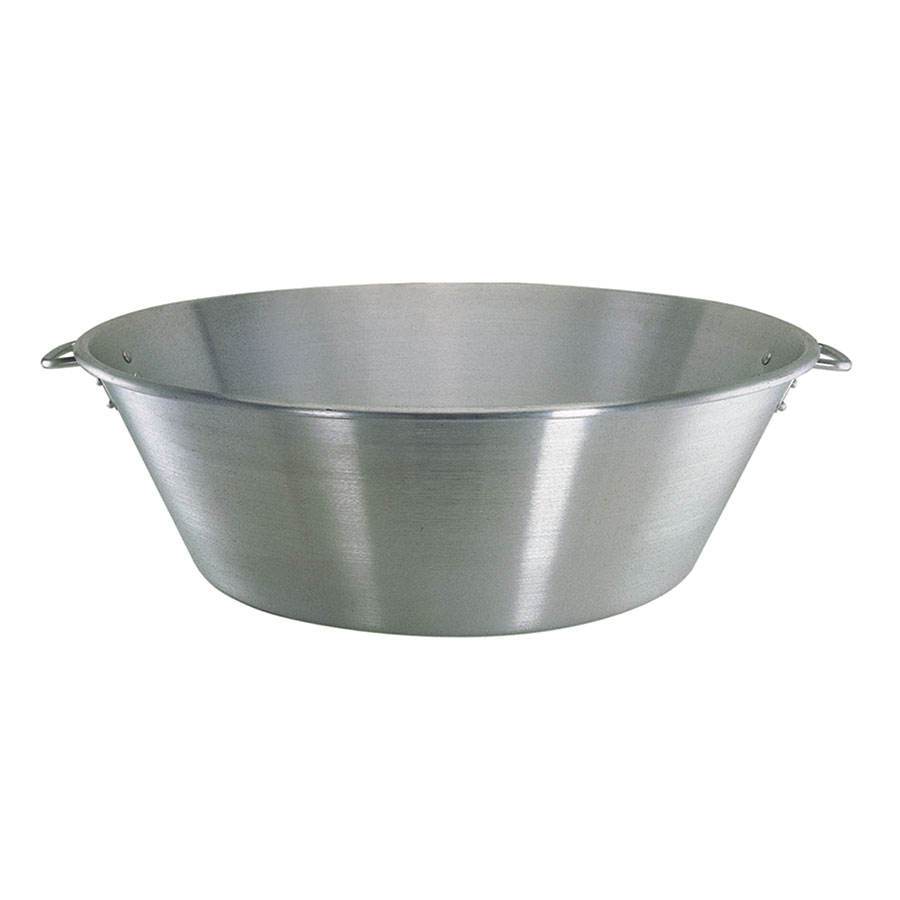 Update International AMB-28 57-qt Mixing Bowl - Aluminum